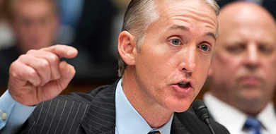 US Representative Trey Gowdy in OGR Committee