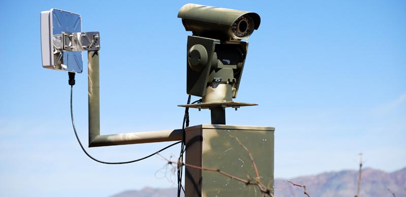 Camera on US/Mexico border
