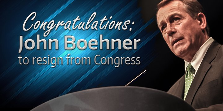 Boehner Resigns-post