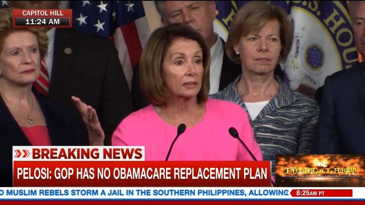 OUTRAGEOUS: Pelosi says 'grandma' will wind up 'living in the guest room' if Obamacare defunded