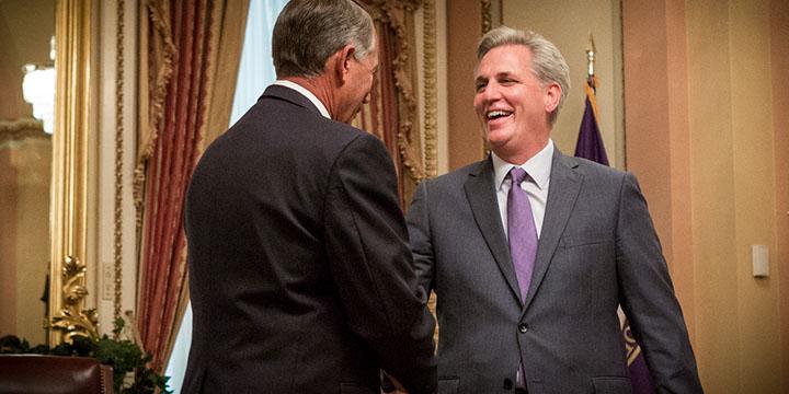 McCarthy = Boehner 2.0
