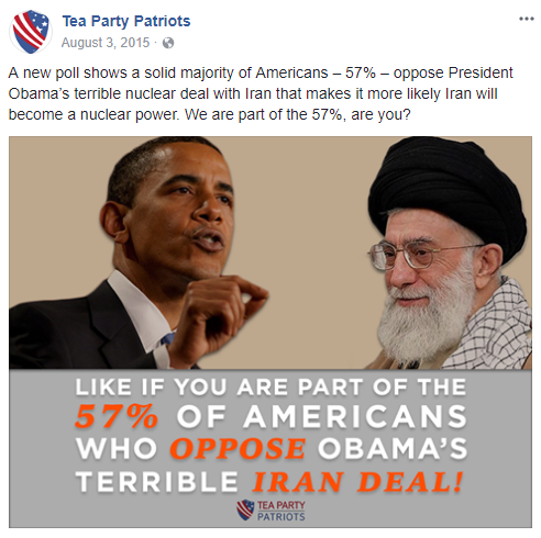 5 ways Tea Party Patriots helped Trump fight the Iran Nuclear Deal